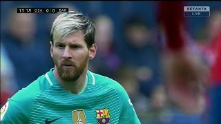 Lionel messi vs osasuna (away) 16-17 hd 1080i by irammessitv