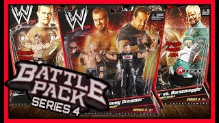 WWE Mattel Battle Pack Wrestling Action Figures Series 4   ft Christian, Hornswoggle & more