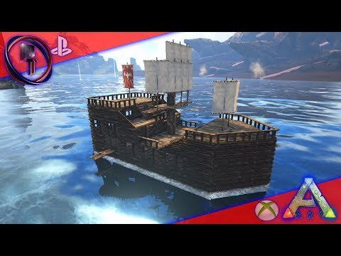 Ark Xbox & PS4 From Raft to Pirate Ship!
