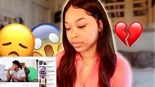 Reacting To My Ex Reason On Why We Broke Up...