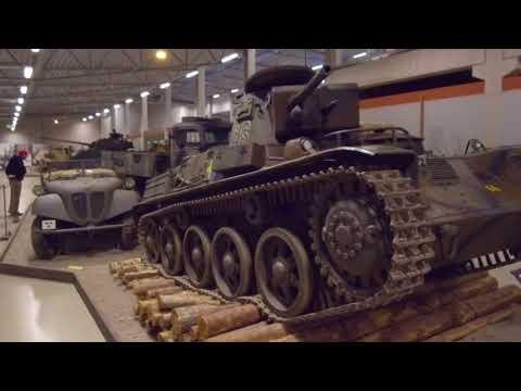 Танковый музей Швеции