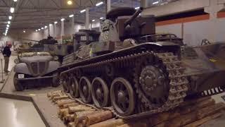 """Танковый музей Швеции - """"Arsenalen""""."""