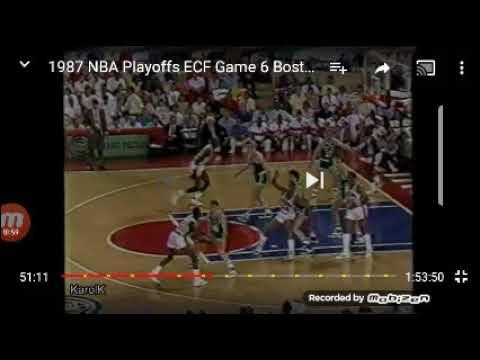 NBA 1988 Playoff Game