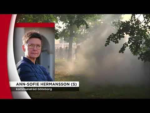En dag av tumult i Göteborg - Nyheterna (TV4)