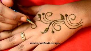Easy Latest Mehndi Designs For Hands - Simple Mehndi Designs For Hands-Beautiful Mehndi Designs