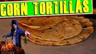 Corn Tortilla Recipe | The Vegan Zombie