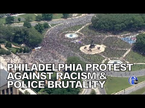 Philadelphia protest against racism, police brutality continues
