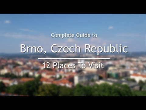 12 Places To Visit In Brno, Czech Republic | Complete Guide To Brno, Czech Republic