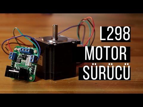 L298N Motor Sürücü İnceleme - Motor Sürücü Nasıl Kullanılır?