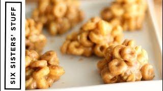 Peanut Butter Breakfast Cereal Bites
