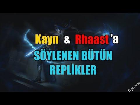 YENİ ŞAMPİYON SIZDIRILDI : KAYN & RHAAST