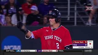 Texas Tech vs TCU Baseball Highlights - Apr. 28