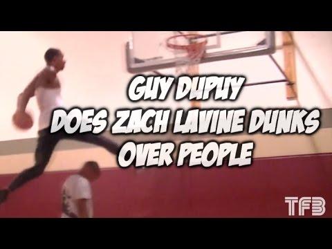 """6'3"""" Guy Dupuy One UPS Zach Lavine's Dunk Contest Dunks - #SCtop10"""