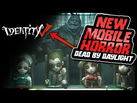 AMAZING NEW MOBILE HORROR GAME SIMILAR TO DEAD BY DAYLIGHT | Identity V