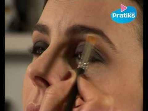 Comment se maquiller les yeux pour le soir youtube for Miroir pour se maquiller