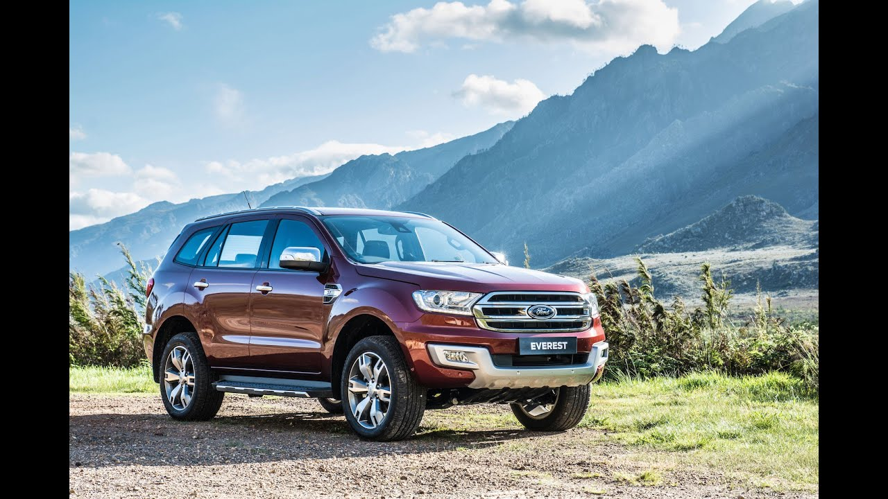 2015 ford everest promo footage