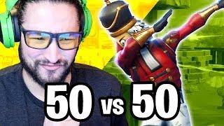 50 vs 50 CRACKSHOT - Fortnite Battle Royale Mise à jour de Noel
