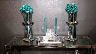 DOLLAR TREE GLAM DIY VASES  ZGALLERIE INSPIRED