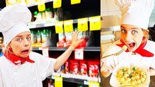 HEALTHY VS UNHEALTHY COOKING CHALLENGE w/Norris Nuts