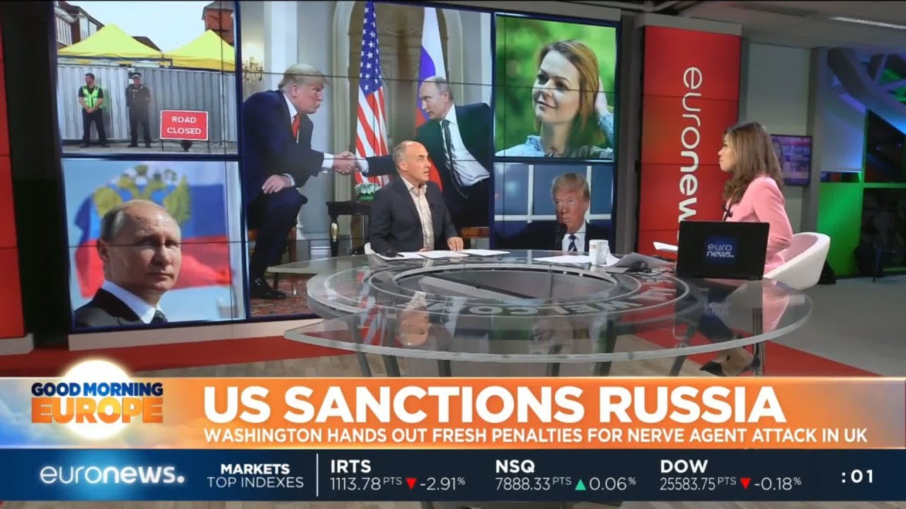 NEWS: Trump announces new sanctions on Moscow.