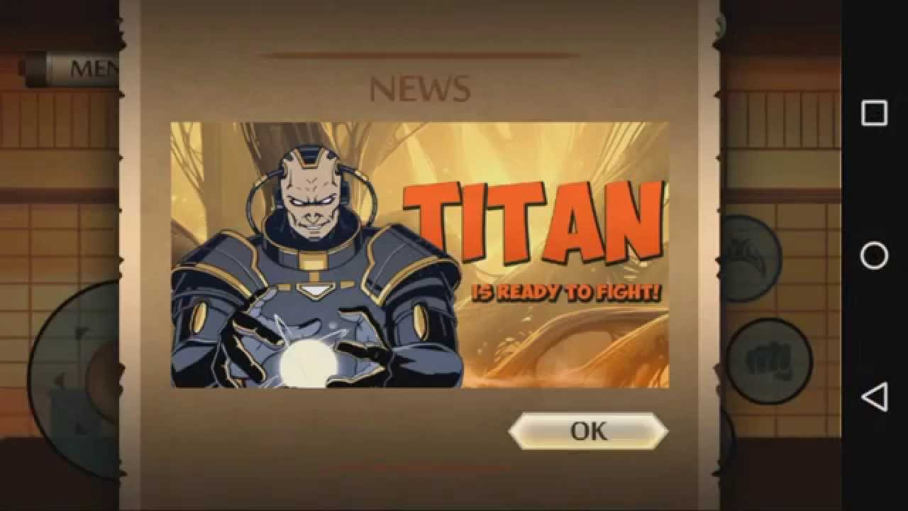 Shadow Fight 2 Titan Chapter 3 Youtube