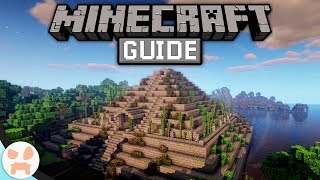 I Built A GIANT PYRAMID! | The Minecraft Guide - Minecraft 1.14.4 Lets Play Episode 74