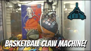 A BASKETBALL Claw Machine!? & Carnival Games At Rehoboth Beach Funland!