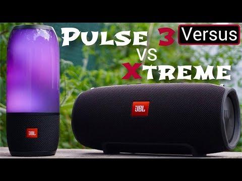 JBL Pulse 3 Vs JBL Xtreme - David vs Goliath - YouTube