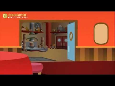 Phim Hoạt Hình Ninja Vui Nhộn Tập 7 : Pucca và  đồ ăn  dành cho mèo