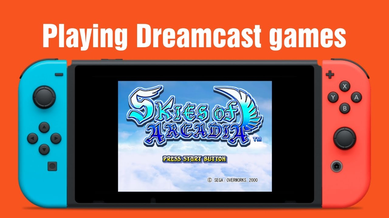 Dreamcast games on the Nintendo Switch, Reicast ALPHA | HOW TO  ニンテンドースイッチ改造:ドリームキャストゲームを追加してみた