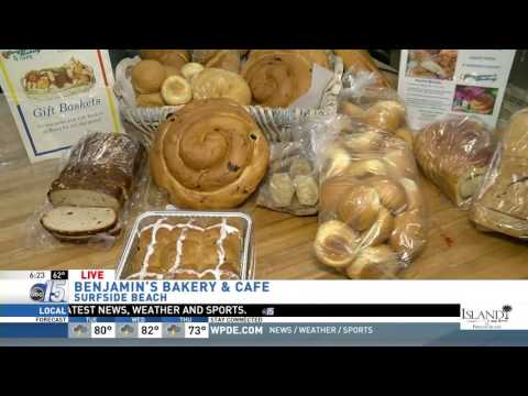 Amanda Live at Benjamin's Bakery - Good Morning Carolinas - WPDE ABC 15