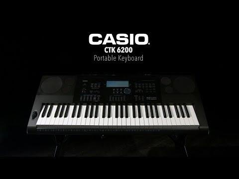 Casio CTK 6200 Portable Keyboard | Gear4music Demo