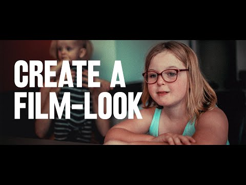 COLOUR GRADE your footage with FILM-LOOK LUTs