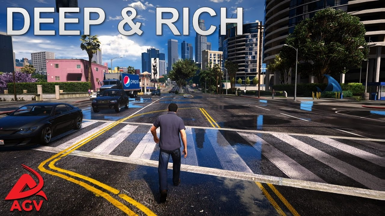 GTA 5 Redux Mod - Deep & Rich Reshade Option