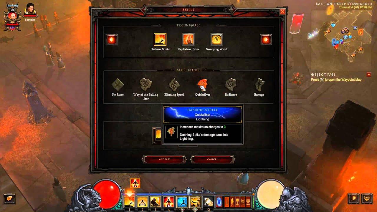 Download Diablo 3 Monk fast farming build patch 2.2 - infinite dashing strike - raiment of a thousand storms
