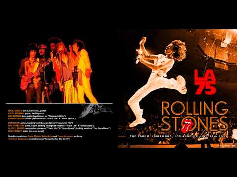 The Rolling Stones Live at the LA Forum - 1975 (full concert audio only) Mp3