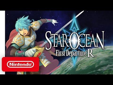 STAR OCEAN First Departure R - Announcement Trailer - Nintendo Switch