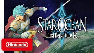 STAR OCEAN First Departure R - Announcement Trailer - Nintendo Switch