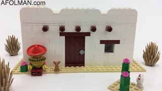Lego Mexican Style House