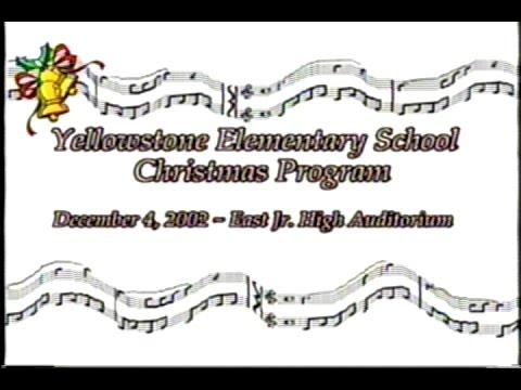 Yellowstone Christmas 2002