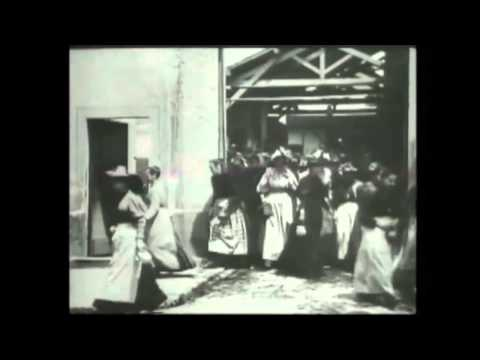 Workers Leaving The Lumiere Factory - Lumiere Brothers 1895