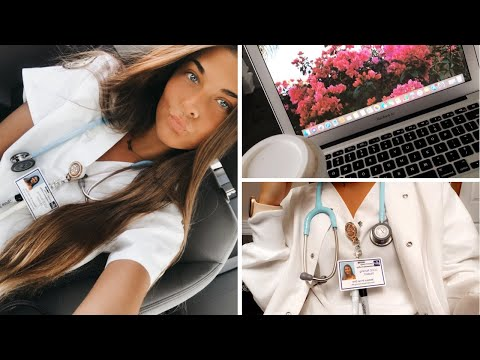 NURSING SCHOOL DAY IN THE LIFE | CLINICALS