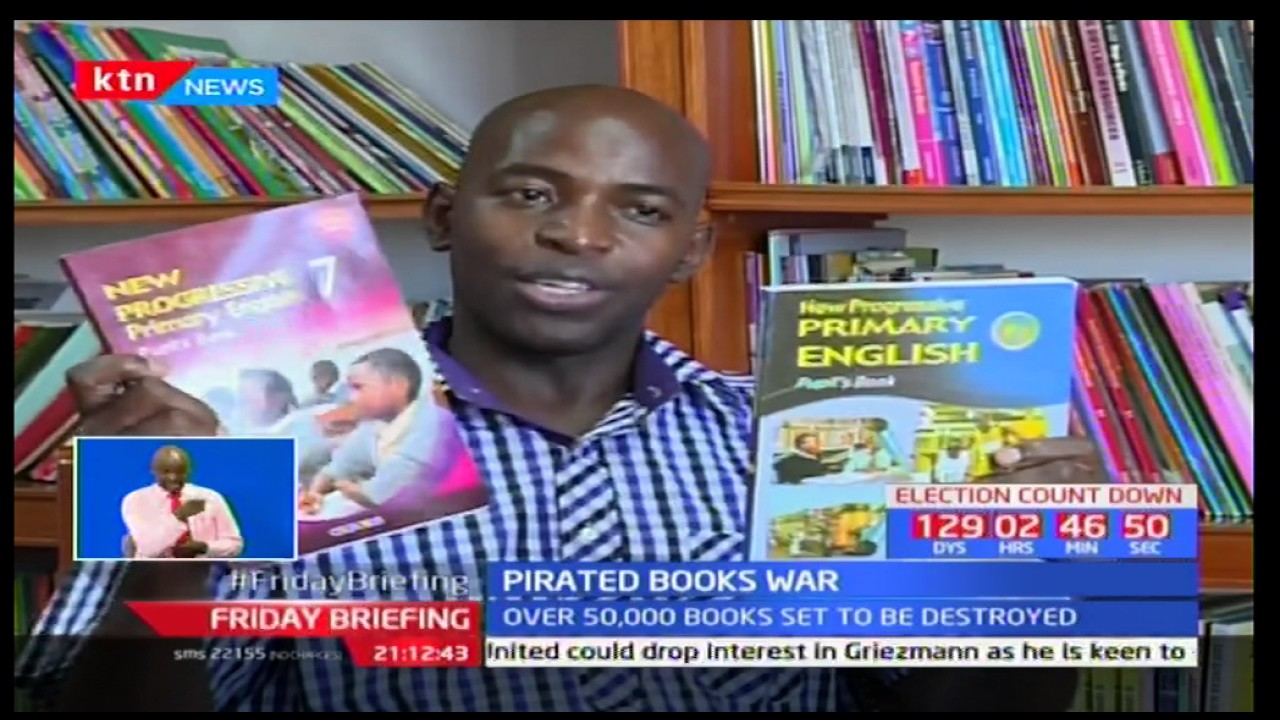 Kenya copyright Board destroy many copies of pirated books