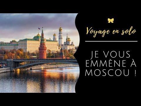 VOYAGE EN SOLO EN RUSSIE - MOSCOU