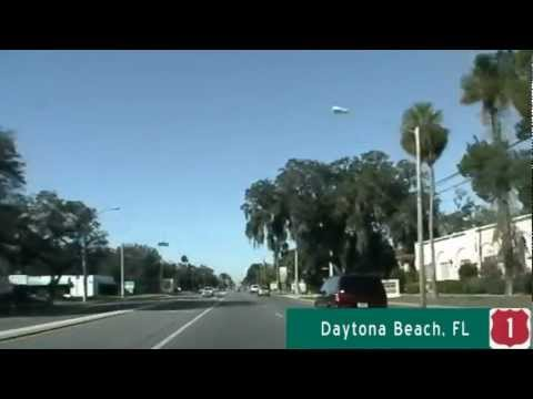 US Highway 1 northbound - Daytona Beach, FL