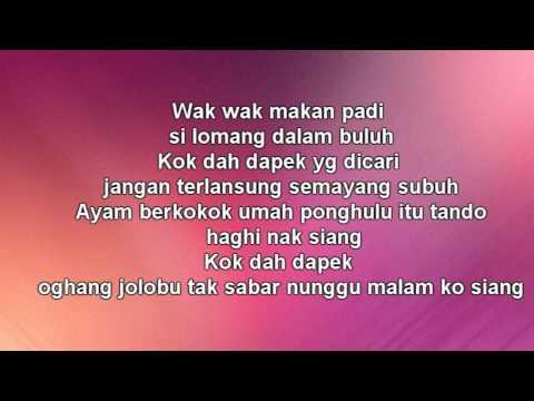 W.A.R.I.S ft Dato Hattan- Gadis Jolobu (LIRIK)