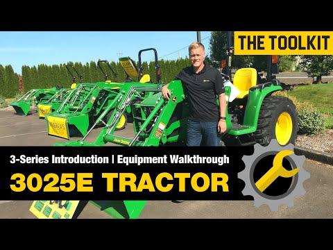 John Deere 3025E Compact Tractor Walkthrough & Review
