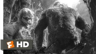 King kong (1933) - kong vs. t-rex scene (4/10) | movieclips