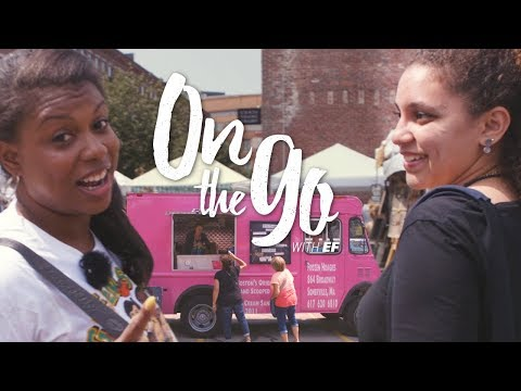 Kendra & Chantel go to Boston's SoWa Market – On the go with EF #77