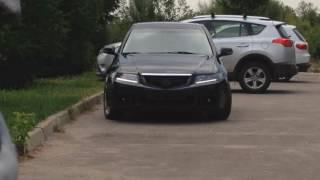 Тюнинг фар + ДХО Acura TSX Хонда Аккорд 7